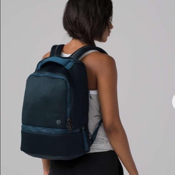 c782ab7bb075 Lululemon City Adventurer Mesh Backpack Navy Large
